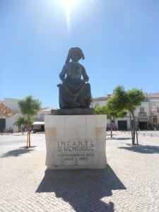 Standbeeld hendrik de Zeevaarder